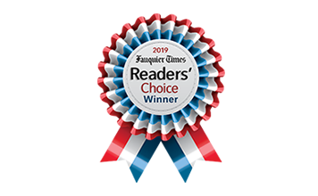 2019 Fauquier Times Readers Choice Winner