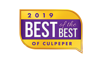 2019 Best of the Best of Culpeper Award