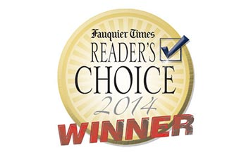 2014 Fauquier Times Readers Choice Winner